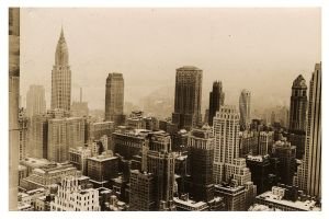 New York City Midtown from Rockefeller Center, 1936. (Photo from Wikimedia Commons)